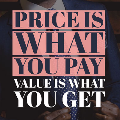 Price is what you pay