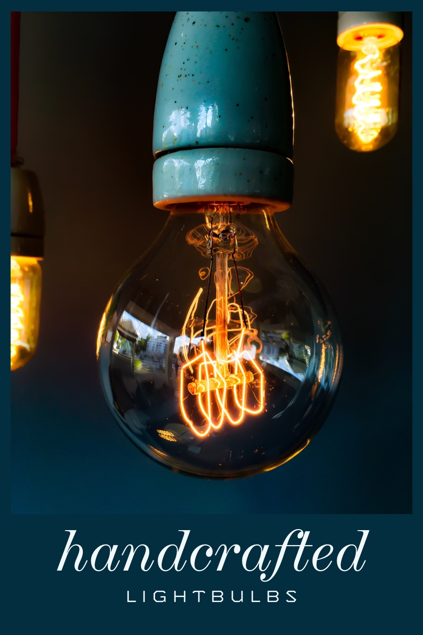 handcrafted bulb pinterest  handcrafted    Lightbulbs