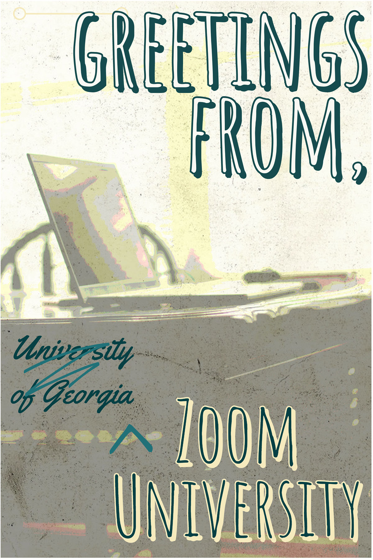 greetings from, greetings from, Zoom University University of Georgia