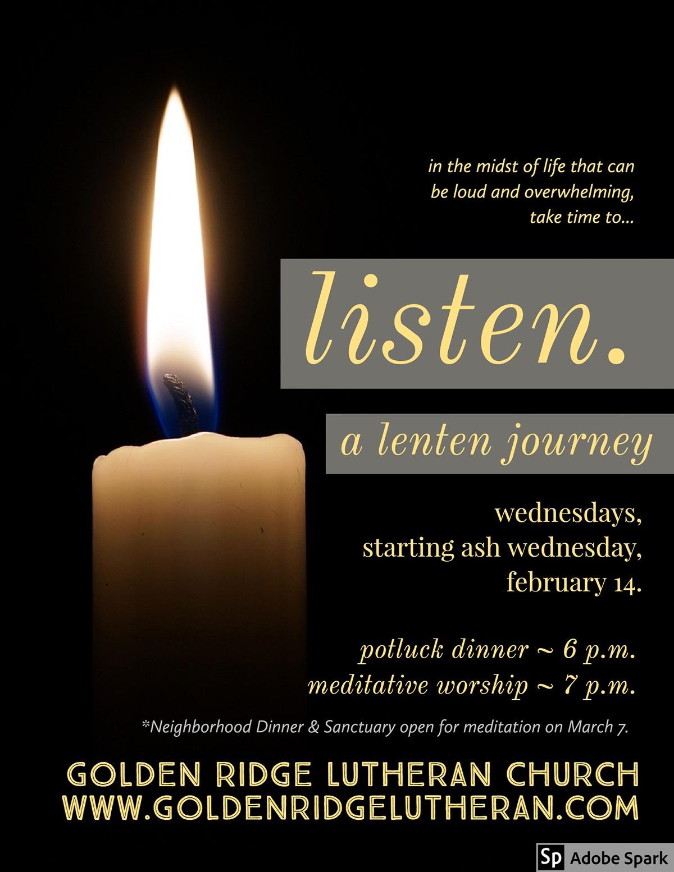 Lent listen