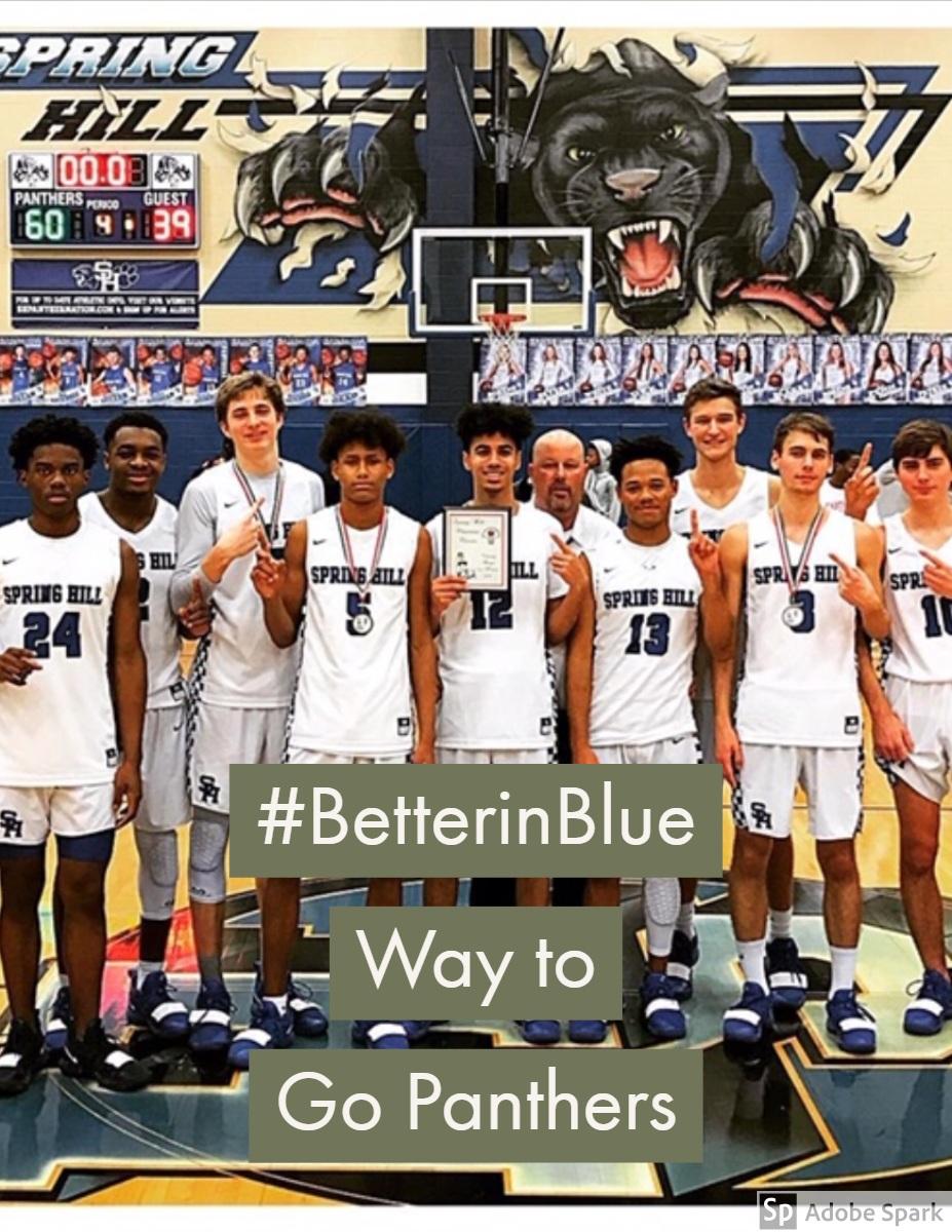 #BetterinBlue  Way to Go Panthers #BetterinBlue  Way to Go Panthers
