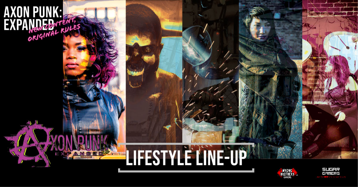 Axon Punk - Reimagining Dystopian Futures 8 Sugar Gamers