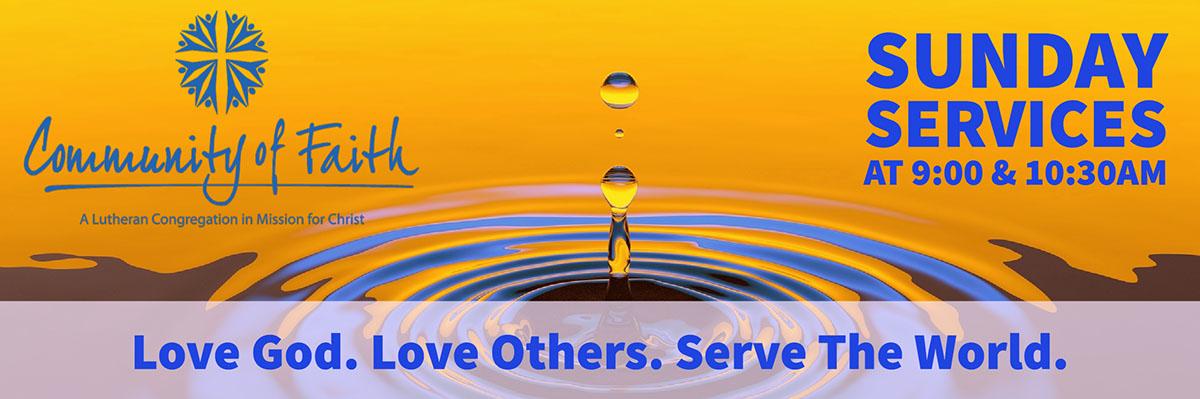 Love God. Love Others. Serve The World.