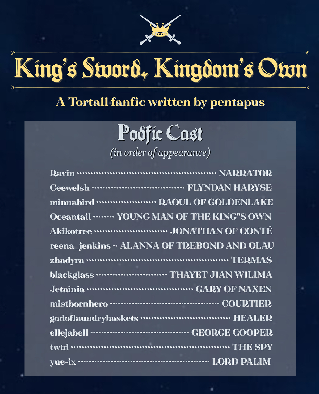 King's Sword Kingdom's Own Cast