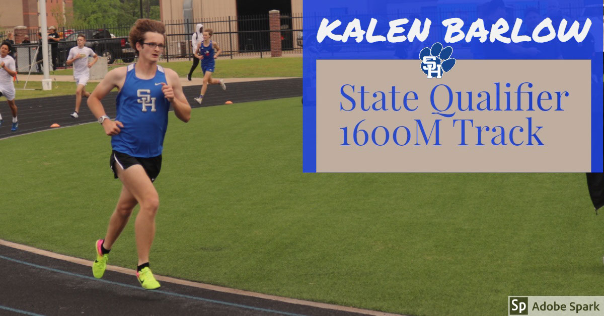 Kalen Barlow Kalen Barlow<P>State Qualifier 1600M Track