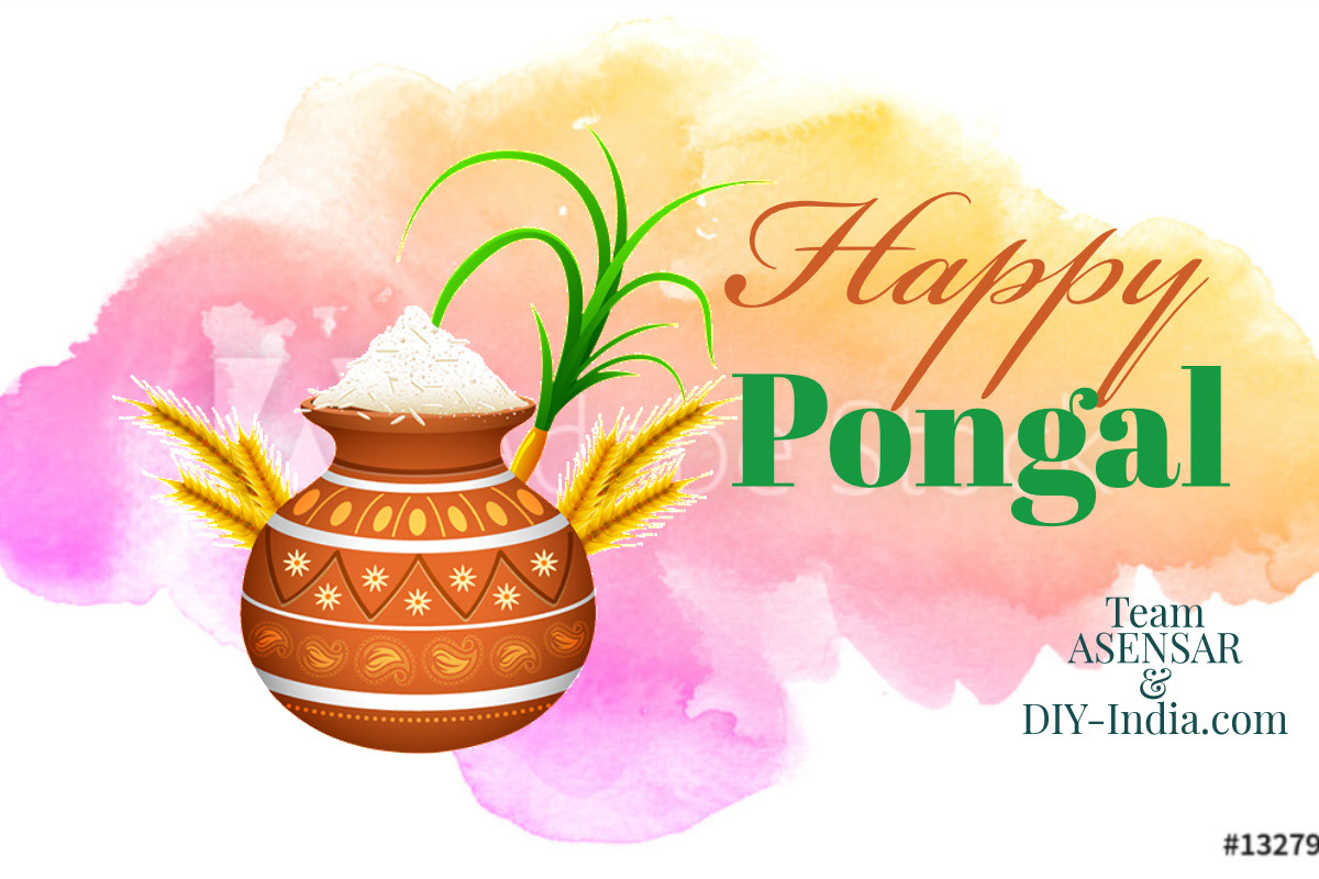 Happy pongal 2020 from ASENSAR and DIY-India.com