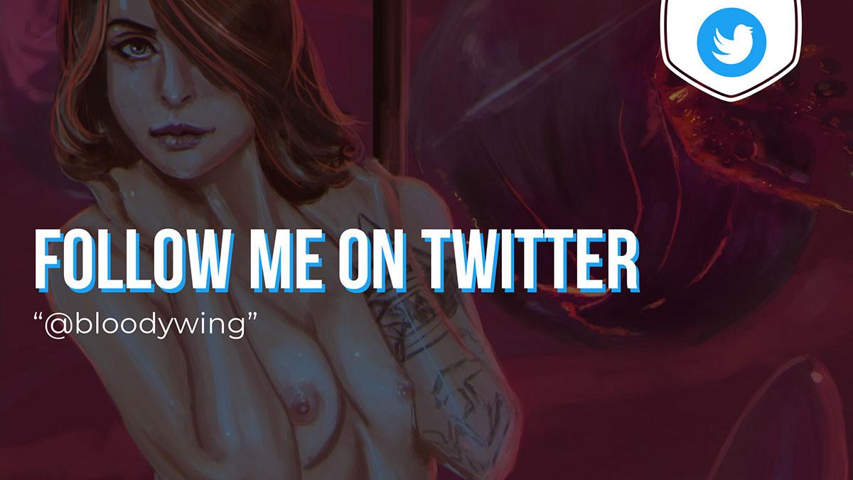 follow bloodywing on twitter