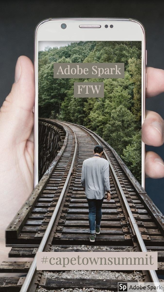 #capetownsummit #capetownsummit<P>Adobe Spark FTW