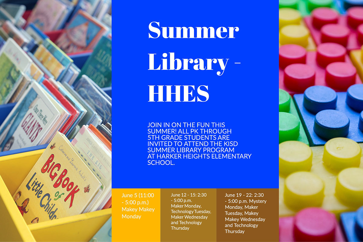 Summer Library - HHES
