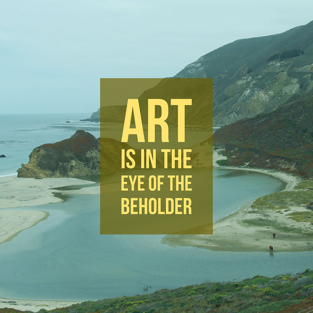 Art is in the eye of the beholder
