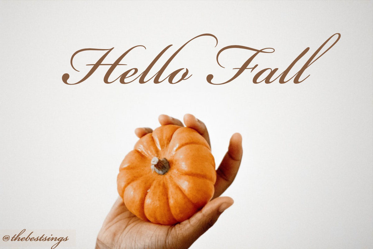 Hello Fall Hello Fall<P>@thebestsings