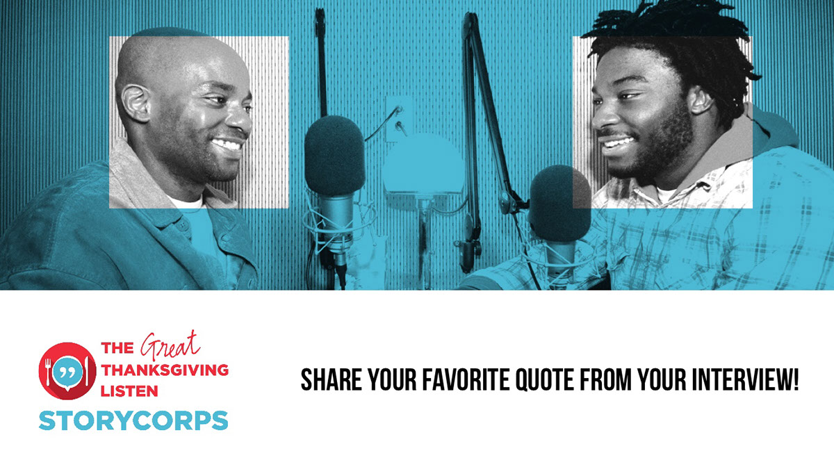 Share your favorite quote from your interview! Share your favorite quote from your interview!