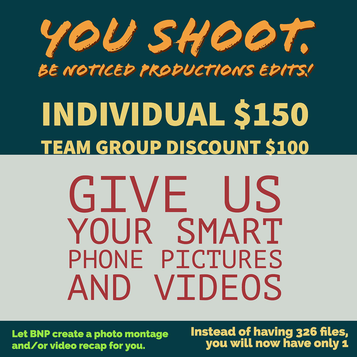Give us your Smart Phone pictures and videos