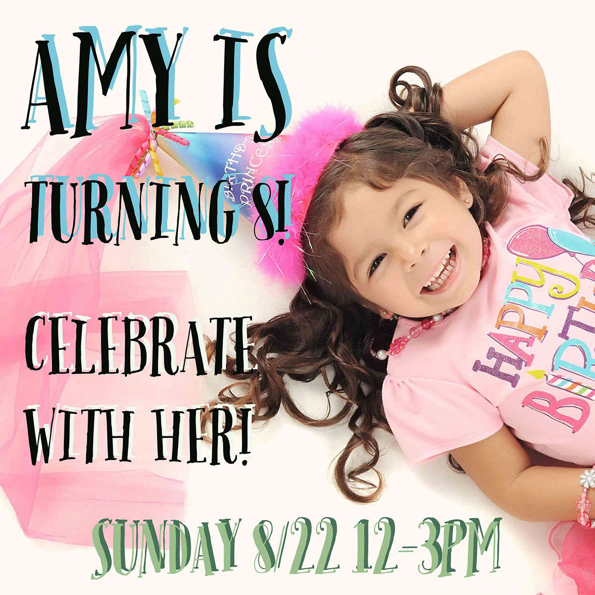 Amy is turning 8!