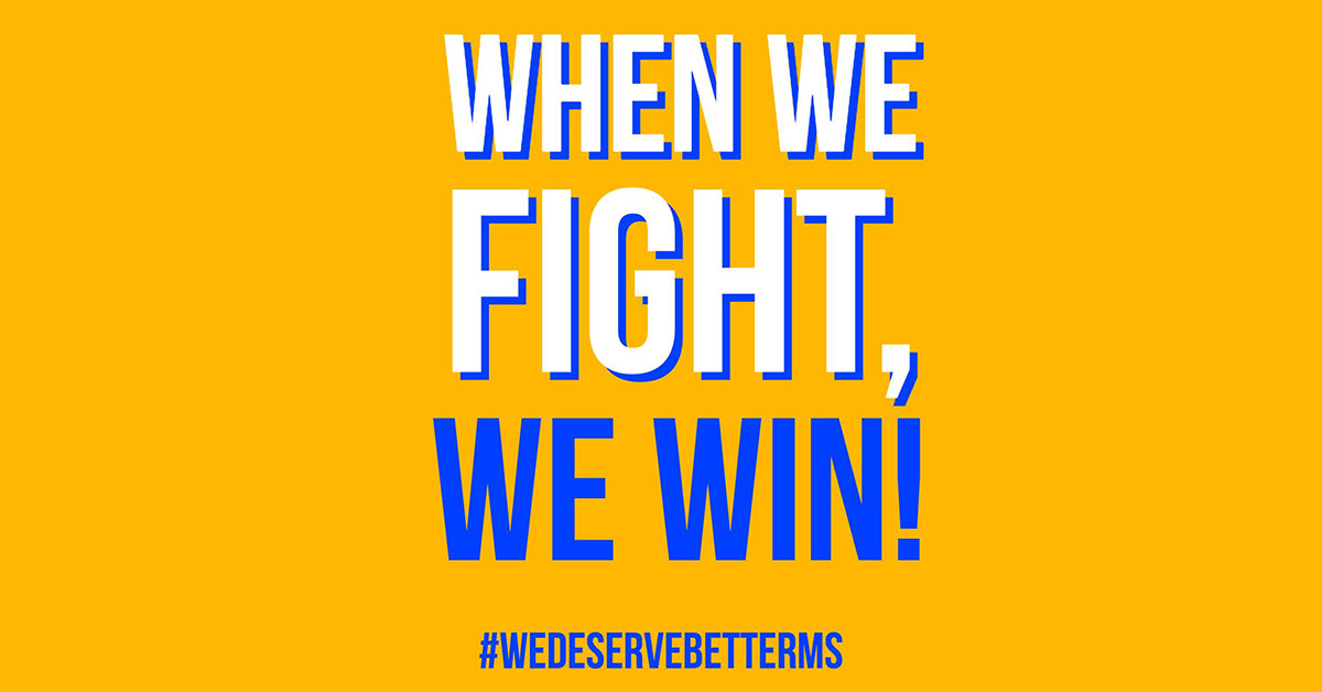When we fight,
