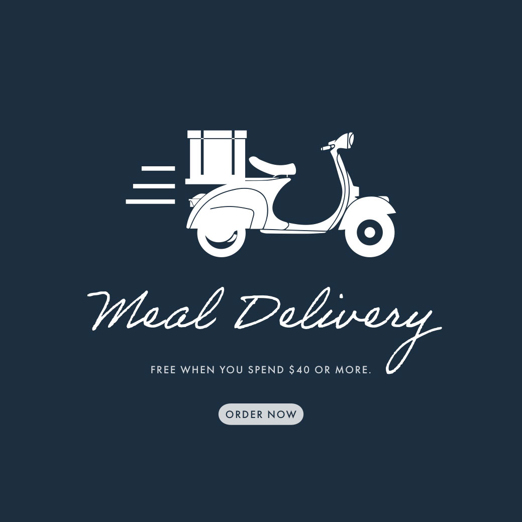 meal delivery instagram Meal Delivery    Order now   Free when you spend $40 or more.