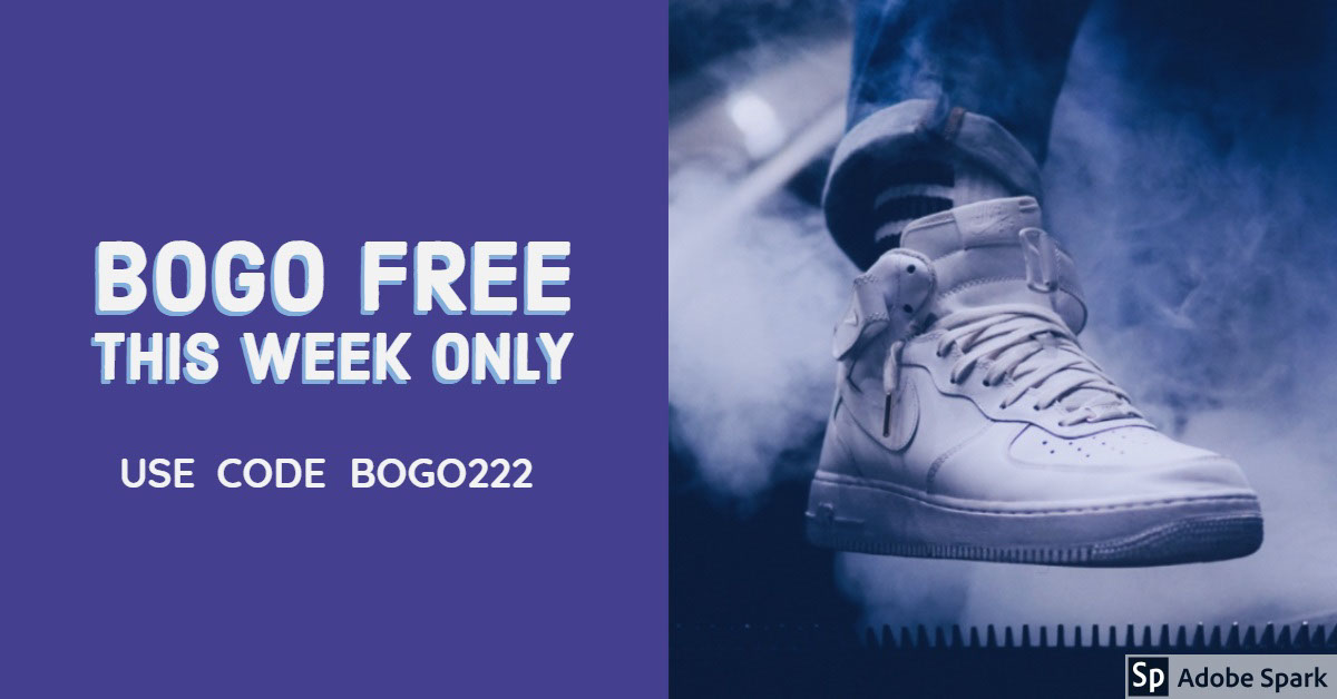BOGO FREE  THIS WEEK ONLY BOGO FREE  THIS WEEK ONLY   Use Code BOGO222