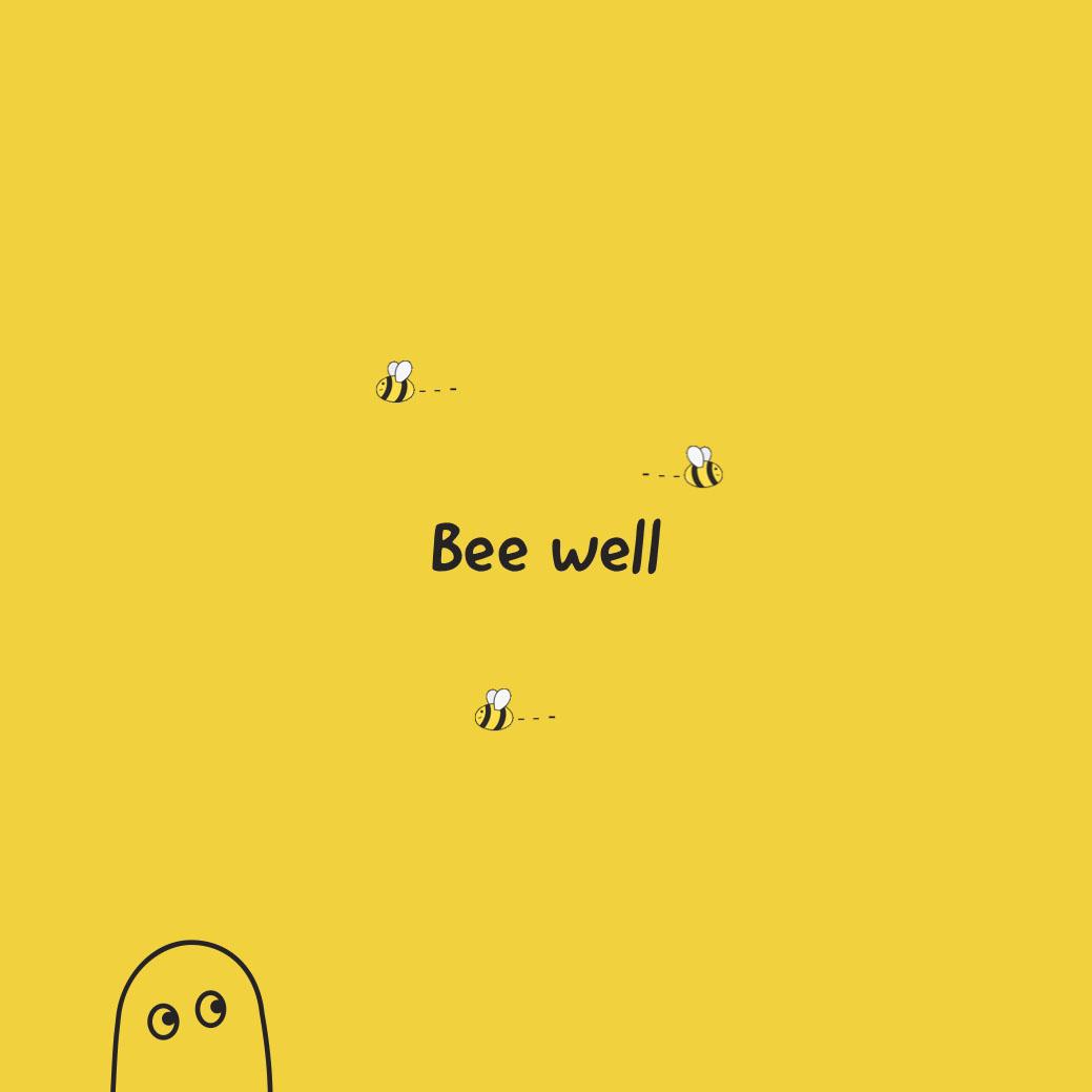 bee well instagram Bee well