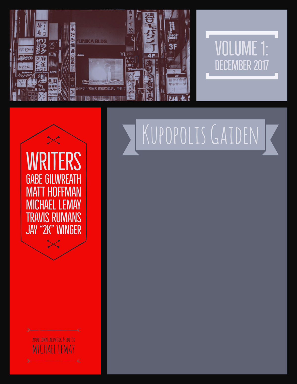"Writers Gabe GilwreathMatt HoffmanMichael LeMayTravis RumansJay ""2K"" Winger"
