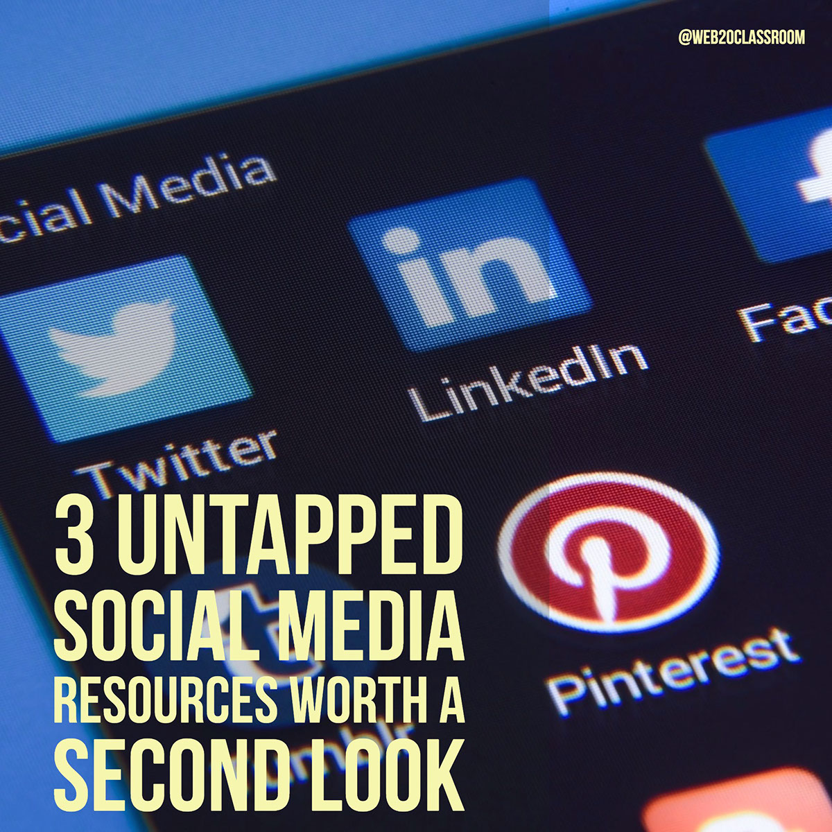 3 Untapped Social Media Resources Worth A Second Look
