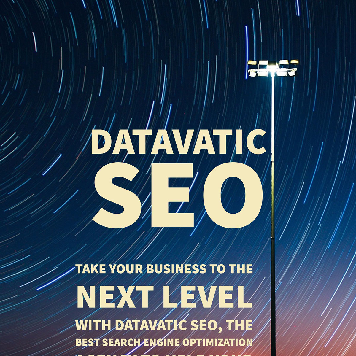 Take your business to the next level with Datavatic SEO, the best Search Engine Optimization agency to help your business dominate the first page of Google and increase it's ROI.