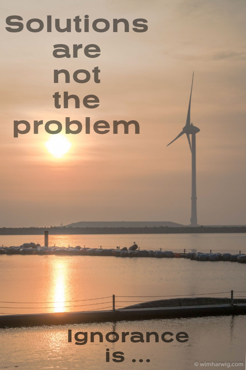 Solutions are not the problem Solutions are not the problem<P>Ignorance is ...