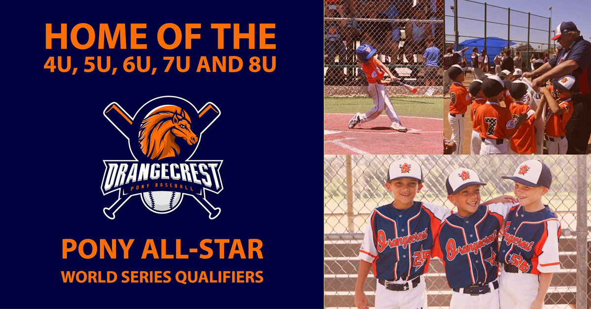 Home of The 4U, 5U, 6U, 7U and 8U Home of The 4U, 5U, 6U, 7U and 8U<P>Pony All-Star World Series Qualifiers