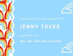 Jenny Toves Birthday