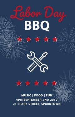 BBQ Labor Day Flyer