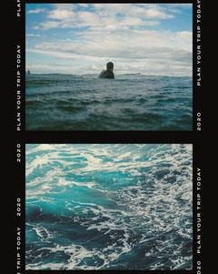 Plan Your Trip Today Instagram Portrait Ocean