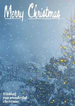 Winter Wonderland Christmas Card