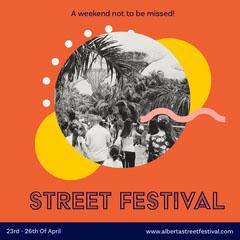 Street Festival Instagram Square Festival