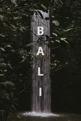 Bali postcard Postcard