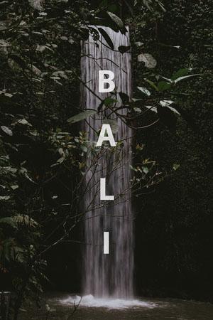 Bali postcard Ansichtkaart