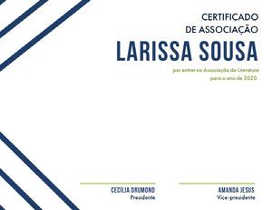 Larissa Sousa Diploma