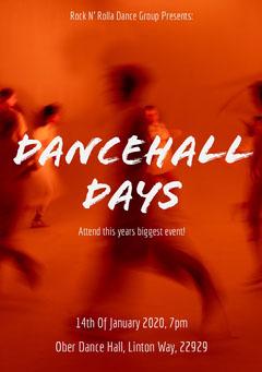 dance event flyer Dance Flyers