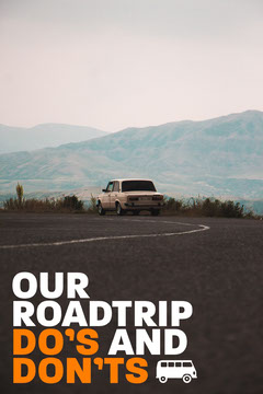 Roadtrip Do's & Don'ts Pinterest Car