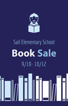 Book Sale School Posters