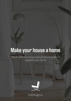 Home Decor Interior Design Ad Flyer Interior Design