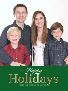 card Holiday