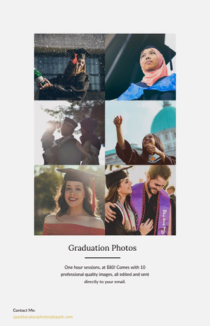 Light Toned Collage Graduation Photography Ad Instagram Story Jahrbuchmacher