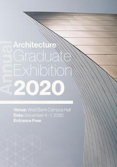 Grey Architecture Graduate Exhibition - Flyer A5 Exhibition