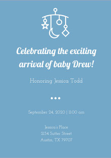 Celebrating the exciting arrival of baby Drew!