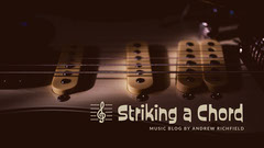 Guitar and Music Blog Banner Music