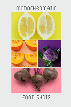 monochromatic pinterest  Fruit