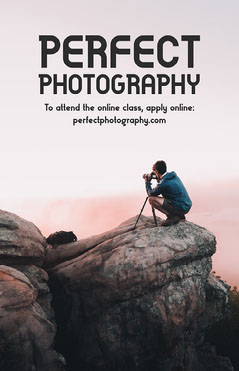 Perfect Photography Poster Photography