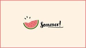 summer watermelon desktop wallpapers  Desktop-Hintergrundbilder