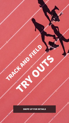 Track  and field try outs Sports