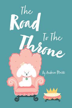 Green White Pink Dog Throne Children's Book Cover Kids