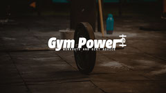 Gym Power Youtube Channel Art Workout
